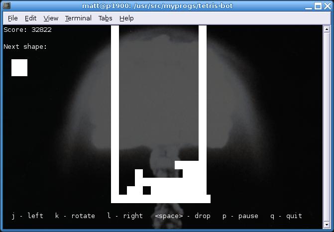 Tetris Bot
